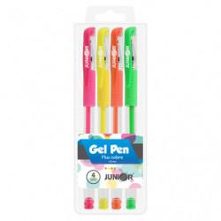 Pero gelové - sada 4ks, Neon