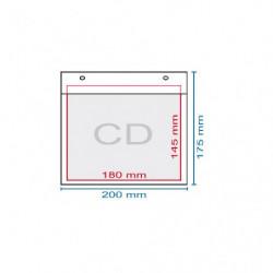 Obálka bublinková CD, 195 x...