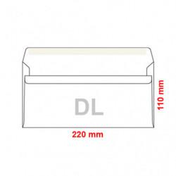 Obálky DL 110x220 mm...