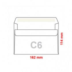 Obálka C6 / 100 samolepicí