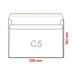 Obálka C5 / 50 samolepící