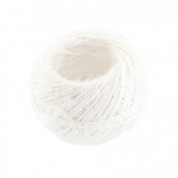 Motouz lněný bílý 40 g