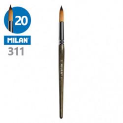 Štětec kulatý MILAN č. 20 -...