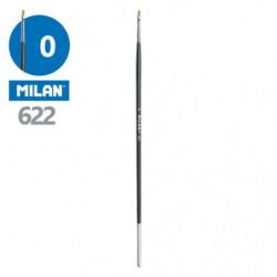 Štětec plochý MILAN č. 0 - 622