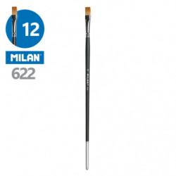 Štětec plochý MILAN č. 12 -...