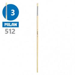 Štětec kulatý MILAN č. 3 - 512