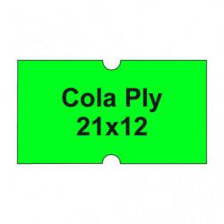 Etikety cen. COLA PLY 21x12...