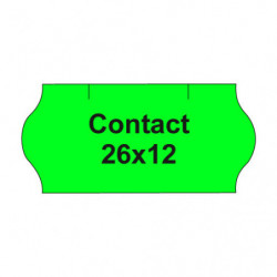 Etikety cen. CONTACT 26x12...