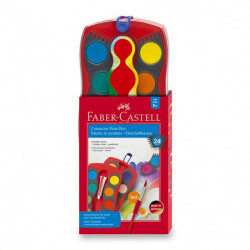 Vodové barvy Faber-Castell...